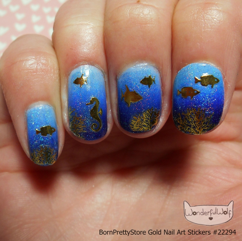 Holo Blue Sealife Design