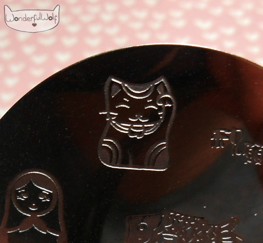 hehe Lucky Cat Plate