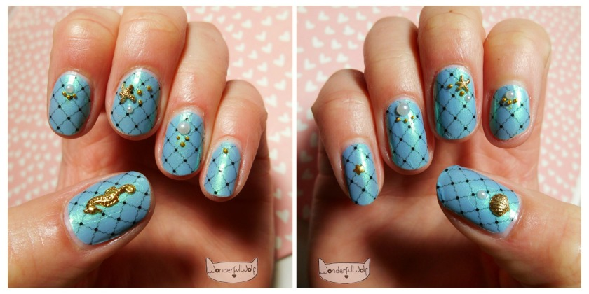 OPI Fishnet NailApps Collage