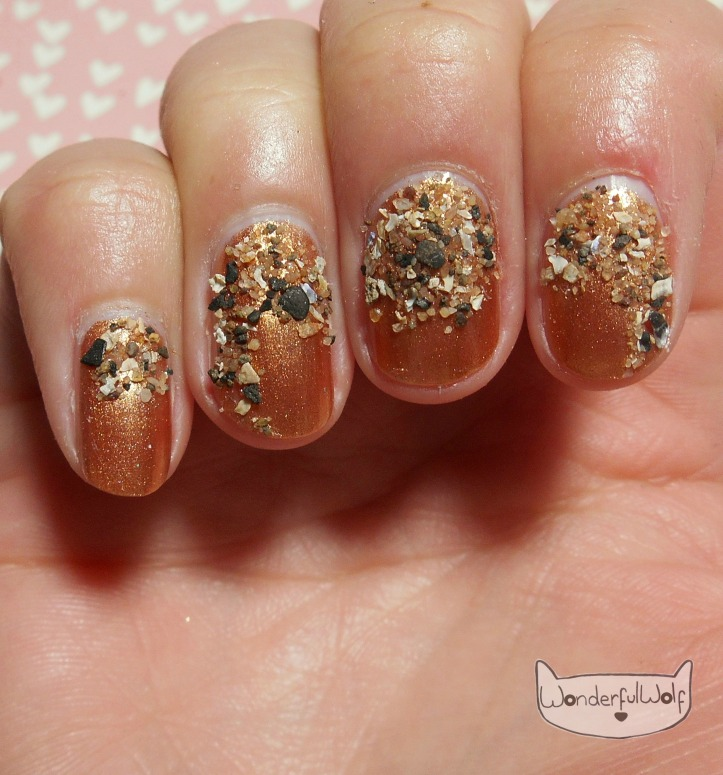 Sandy Beach Nail Art