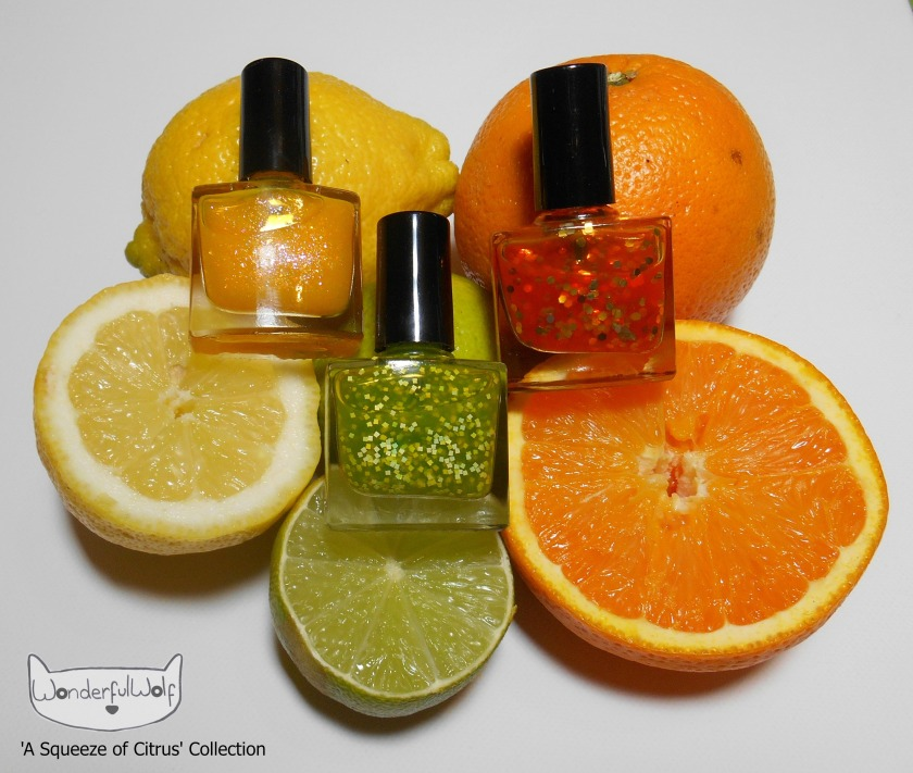 ASqueezeofCitrusCollectionPolishes
