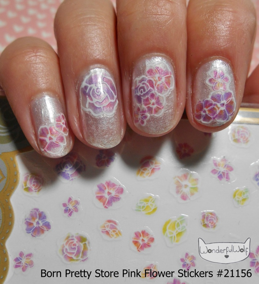 BPS FlowerStickers 21156