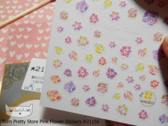 FlowerStickers 21156