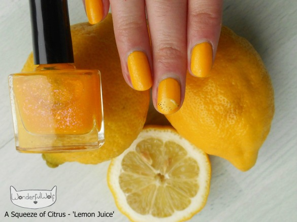 LemonJuiceFruitNails