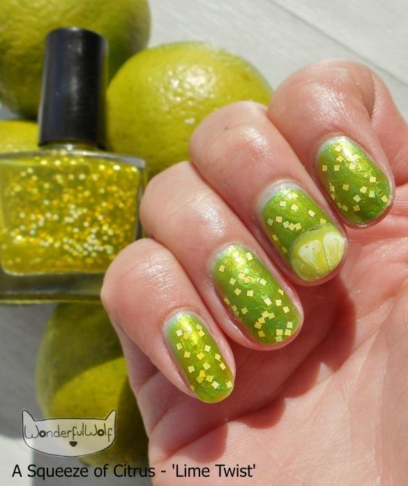 LimeTwistFruitNails