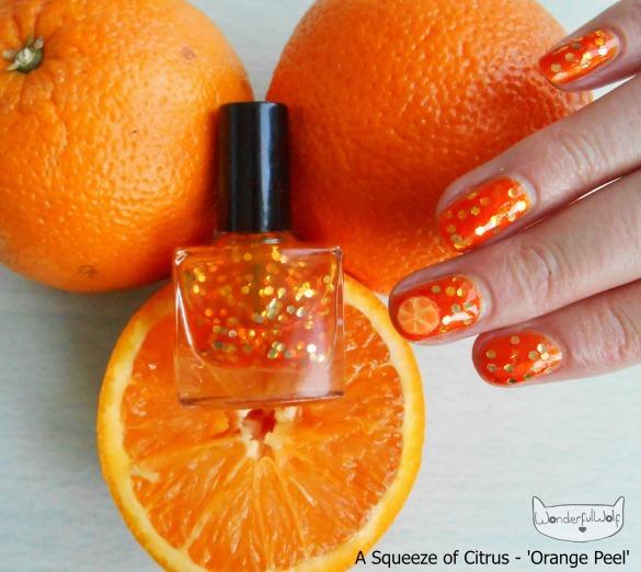OrangeJuiceFruitNails