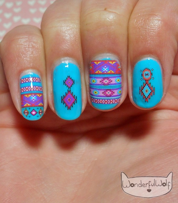 Tribal Water Decals