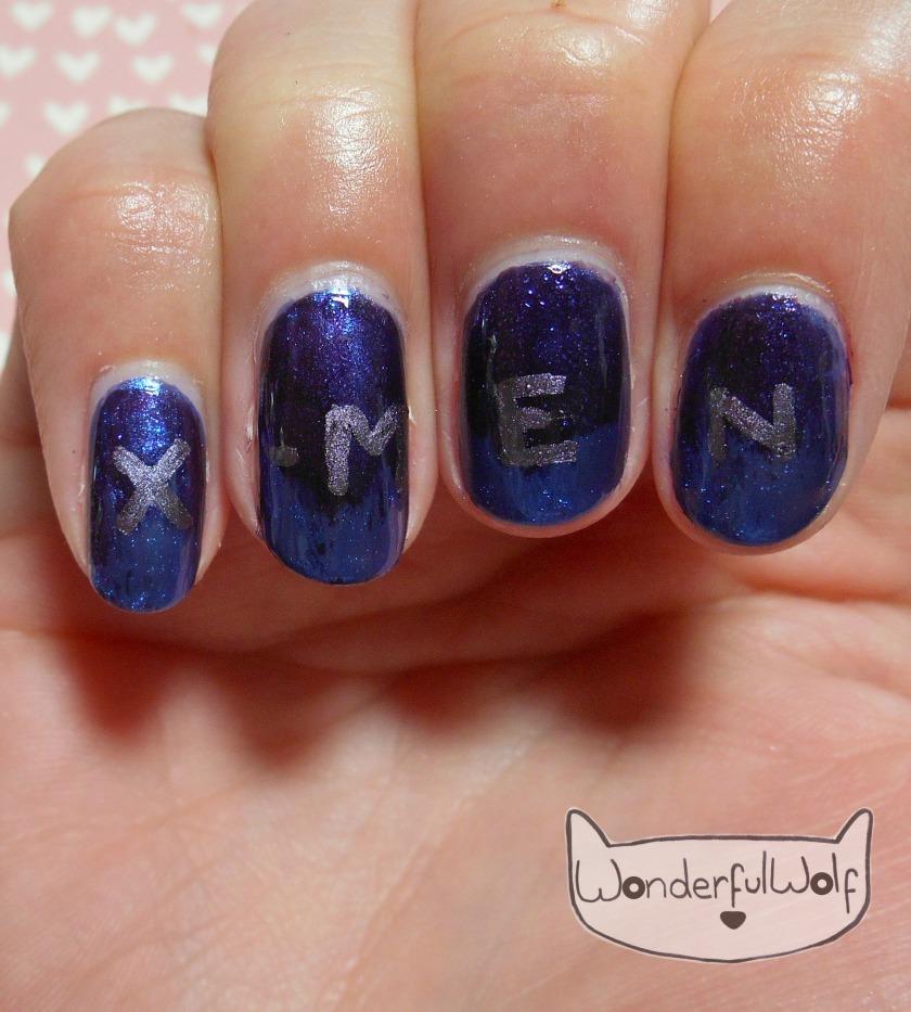 X Men Nail Art Wonderfulwolf