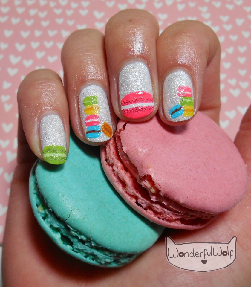 Macaron Nail Art