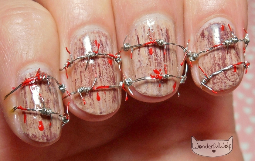 Halloween Nail Art – WonderfulWolf