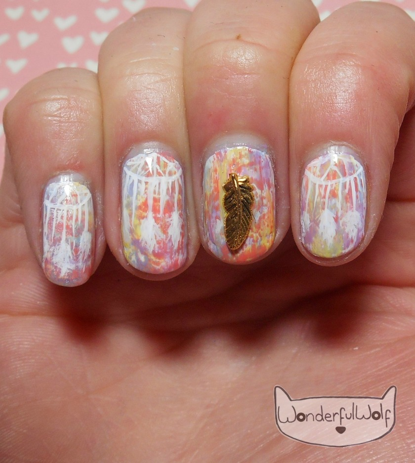 dreamcatcher-nail-art