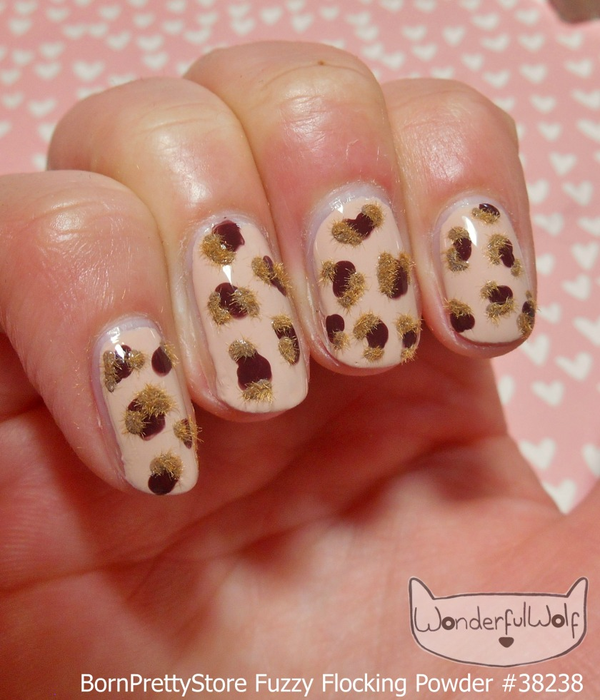 flocked-leopard-side