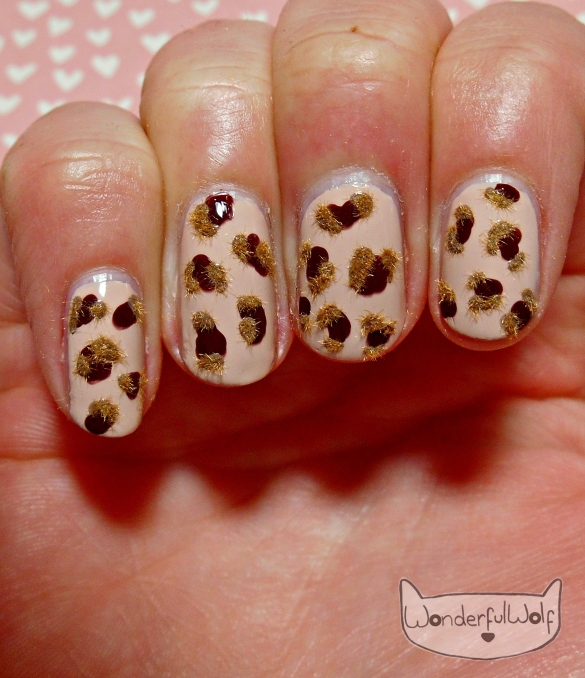 flocked-leopard
