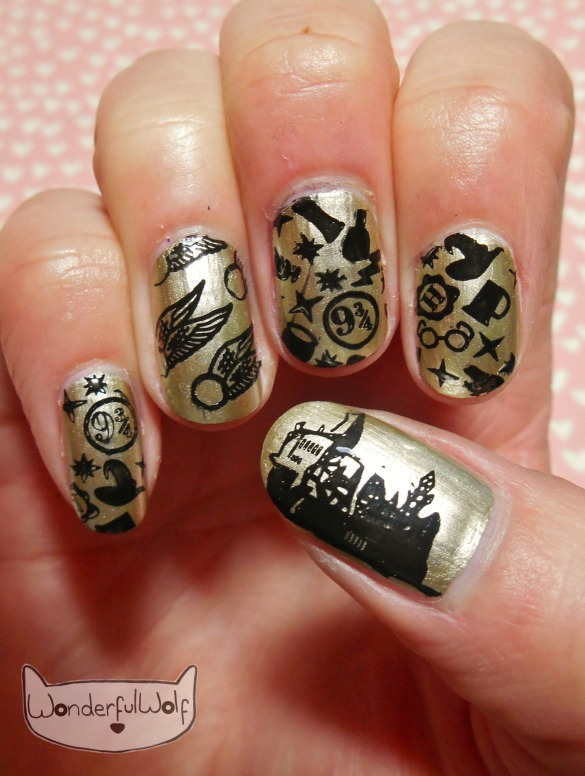 harrypotter-nail-art