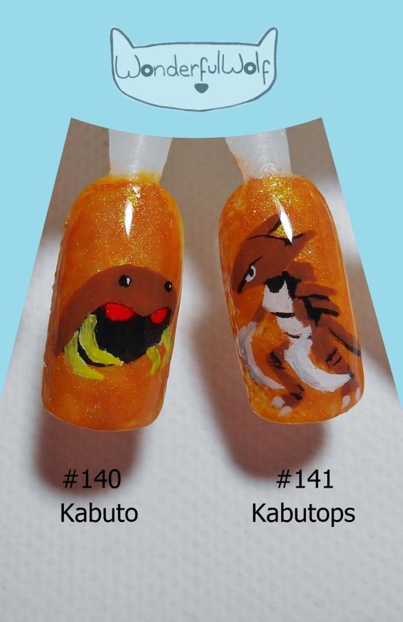 140 141 Kabuto Kabutops