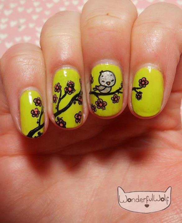 SpringBlossom Nail Art