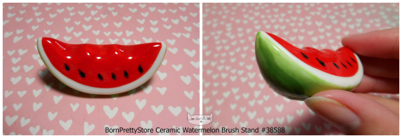 CuteWatermelonCeramicBrushStand