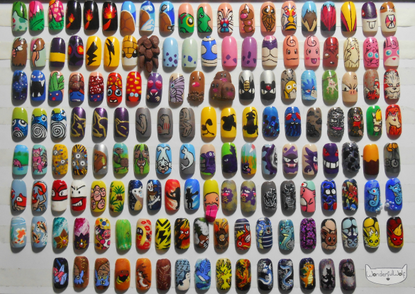 original 151 pokemon nail art collection.png