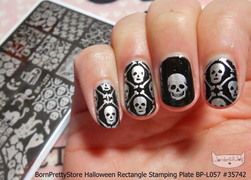 BP-L057 Skull Stamping Design