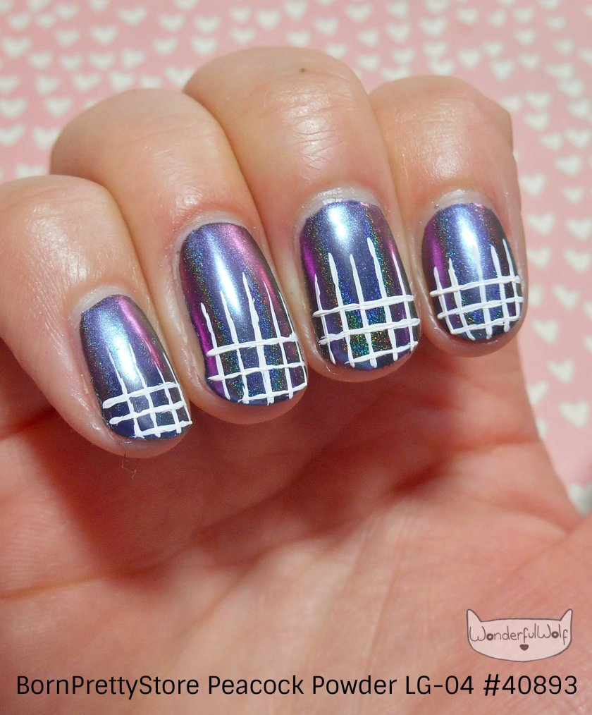 Gridwork Nail Art Peacock Powder.jpg