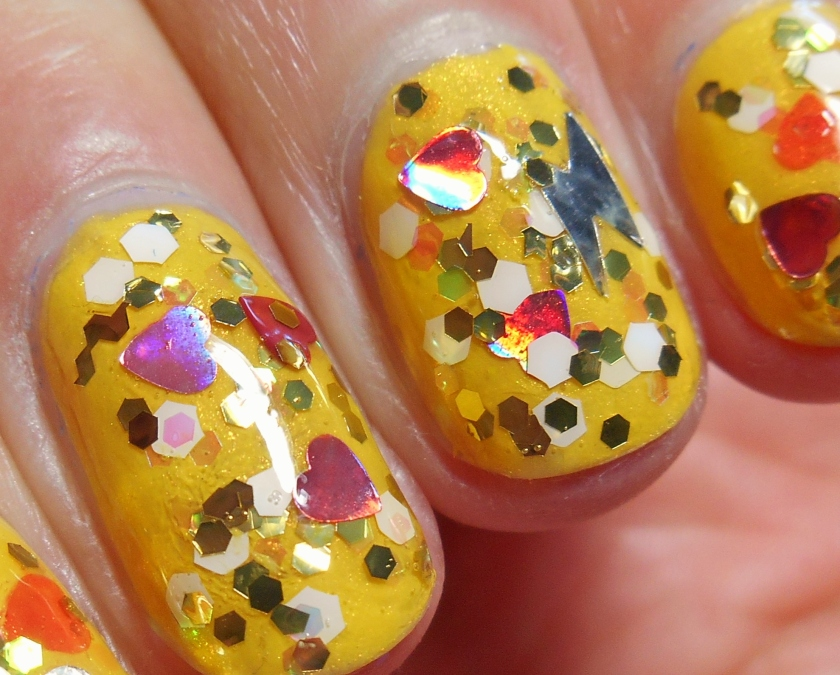 close up pokemon nail polish