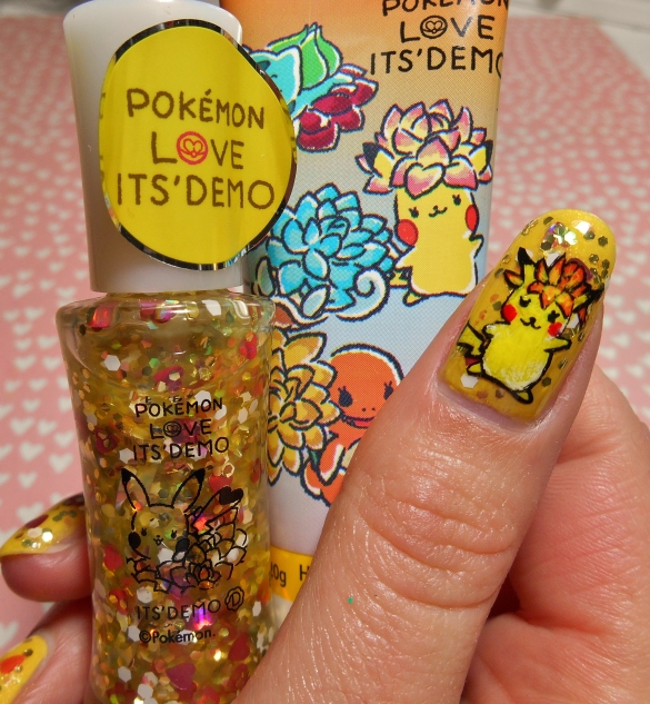 its demo pikachu hand cream and nail polish.JPG