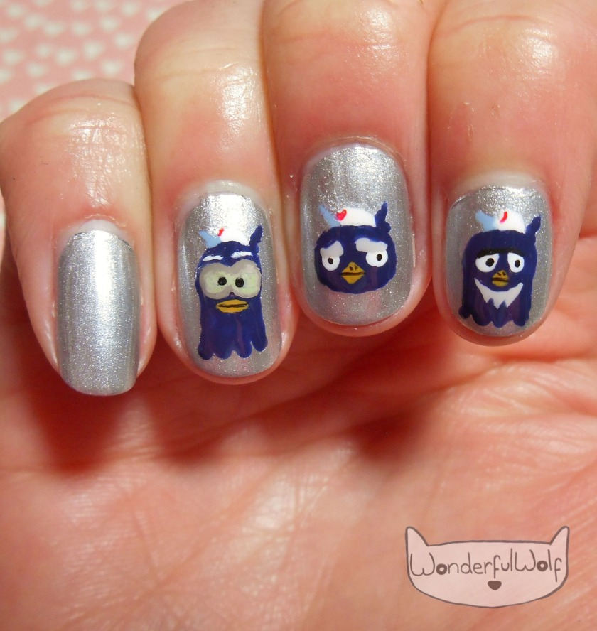 Ok motors animal crossing nail art