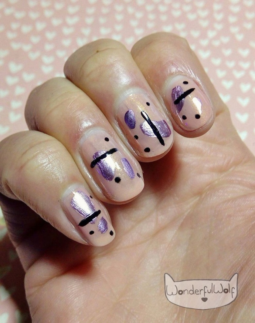 Random Abstract Nail Art